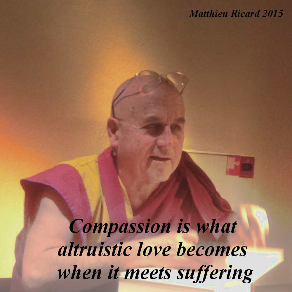 Matthieu Ricard – compassion and altruism