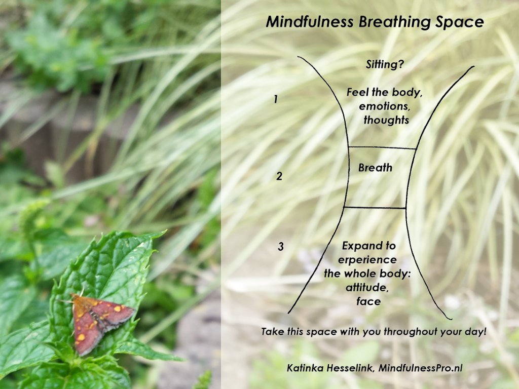 Breathing Space – short mindfulness exercise for when things get tough